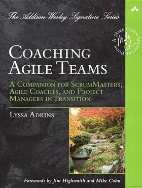 coaching agile teams-Lyssa Adkins